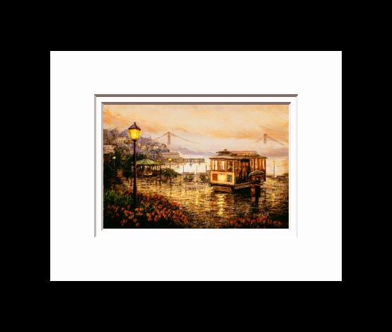 Anna Chrasta 8 X 10 Double Matted Art Prints S F