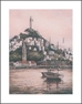 ANNA CHRASTA  EDITIONS  Handsigned-&-Numbered COIT-TOWER - Z918LE