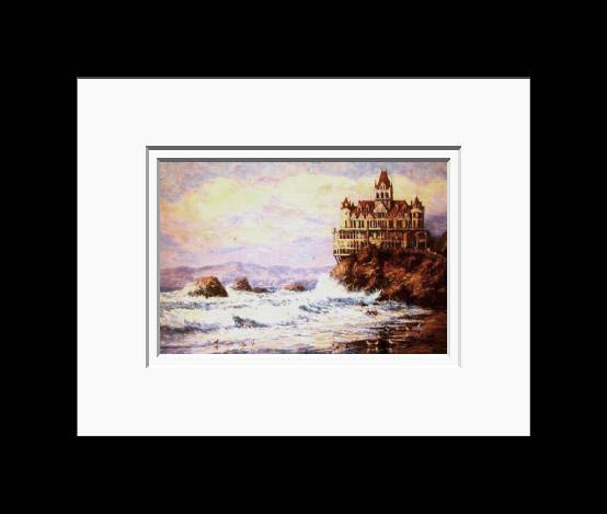 Anna Chrasta Matted 8X10 CLIFF HOUSE MEMORIES