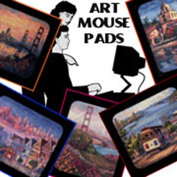 Fabric covered Mouse Pad Pictures