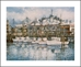 ANNA CHRASTA  EDITIONS  Handsigned-&-Numbered FISHERMAN'S WHARF - Z911LE