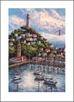 ANNA CHRASTA  EDITIONS  Handsigned-&-Numbered COIT-TOWER II - Z919LE
