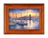 Marina Sunrise - Redwood Frame