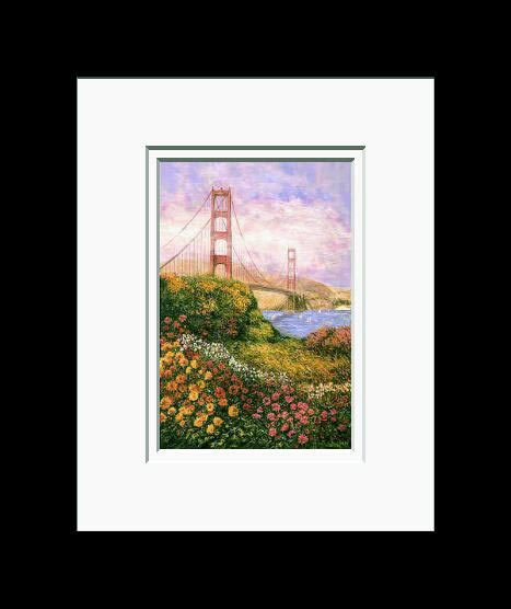 Anna Chrasta Matted 8X10 GOLDEN GATE