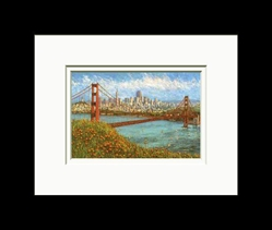 Anna Chrasta Matted 8X10 GOLDEN CITY