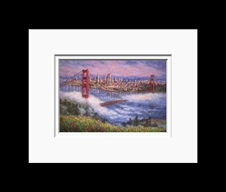 Anna Chrasta Matted 8X10 CITY LIGHTS